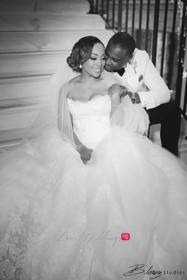 Coco Adeleke and Caleb Adaji White Wedding in Dubai Bride and Groom BLawz Studios LoveweddingsNG 3