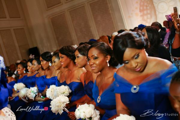 Coco Adeleke and Caleb Adaji White Wedding in Dubai Bridesmaids BLawz Studios LoveweddingsNG 2