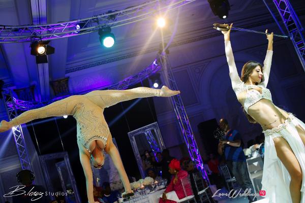 Coco Adeleke and Caleb Adaji White Wedding in Dubai Entertainment BLawz Studios LoveweddingsNG 1