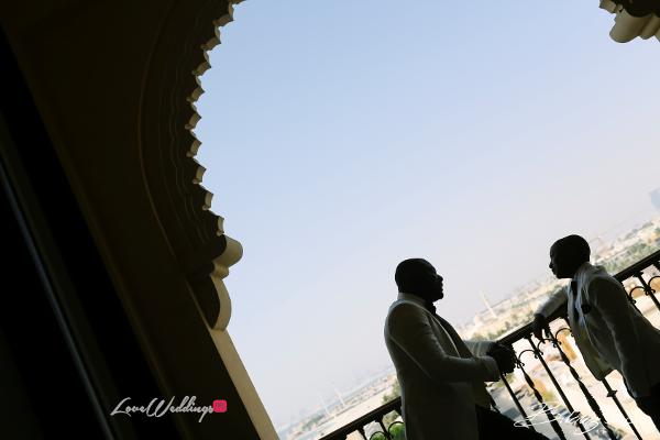 Coco Adeleke and Caleb Adaji White Wedding in Dubai Groom and Page Boy BLawz Studios LoveweddingsNG 1