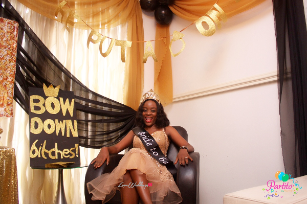 Dami's Beyonce Themed Bridal Shower Partito By Ronnie Bride LoveweddingsNG 2