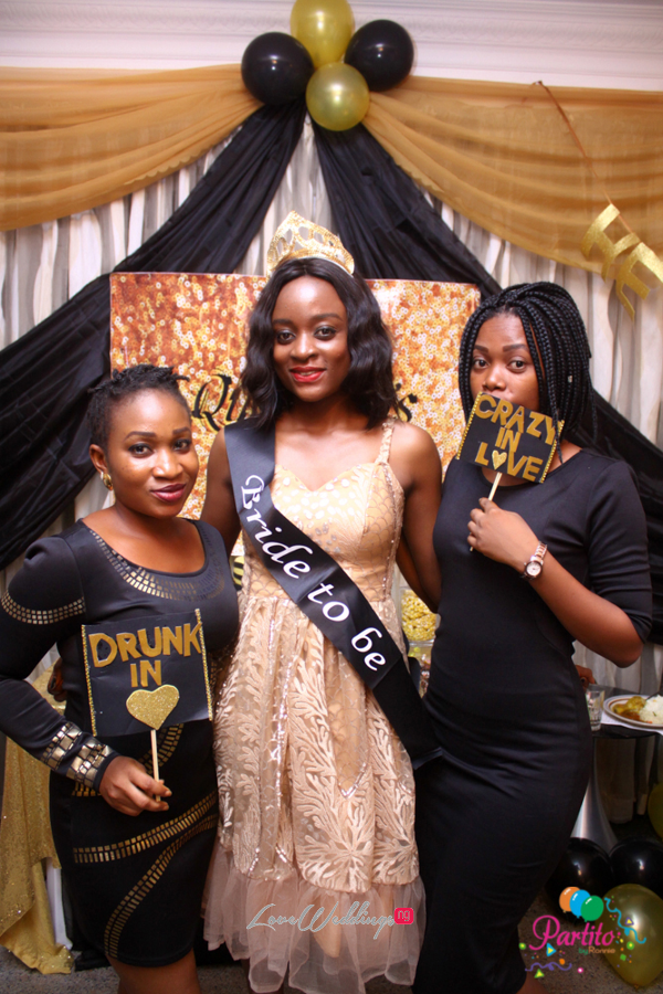 Dami's Beyonce Themed Bridal Shower Partito By Ronnie Bride and Friends LoveweddingsNG 1