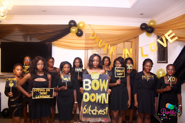 Dami's Beyonce Themed Bridal Shower Partito By Ronnie Bride and Friends LoveweddingsNG