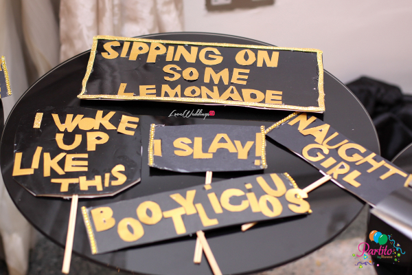 Dami's Beyonce Themed Bridal Shower Partito By Ronnie Props LoveweddingsNG 1