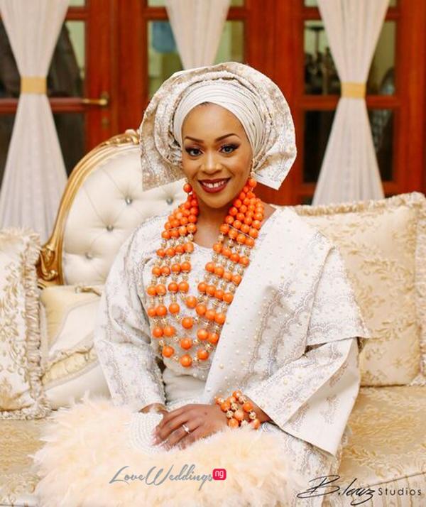 Davido's sister Coco weds Caleb Traditional Wedding Bride LoveweddingsNG 4
