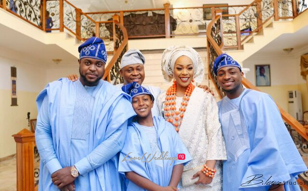 Davido's sister Coco weds Caleb Traditional Wedding Bride and Family LoveweddingsNG