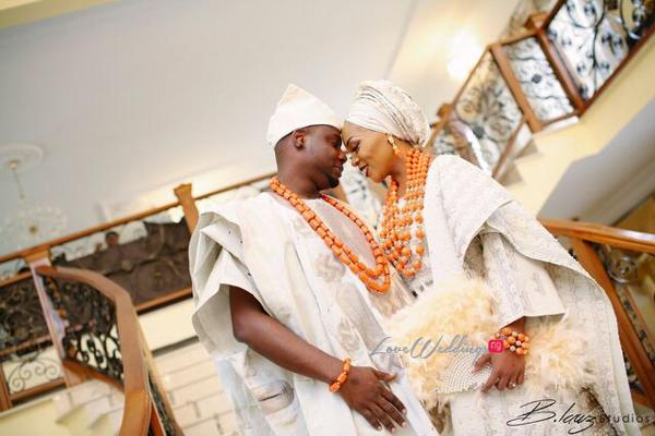 Davido's sister Coco weds Caleb Traditional Wedding Couple LoveweddingsNG 2
