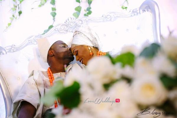 Davido's sister Coco weds Caleb Traditional Wedding Couple LoveweddingsNG 5