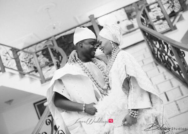 Davido's sister Coco weds Caleb Traditional Wedding Couple LoveweddingsNG 7