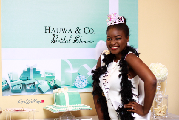 Hauwa's Tiffany & Co. Themed Bridal Shower | Partito by Ronnie