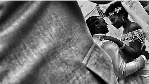 Jide weds Morayo Odukoya Bride and Groom White Wedding First Dance Laphy Photography LoveweddingsNG #MJ2016