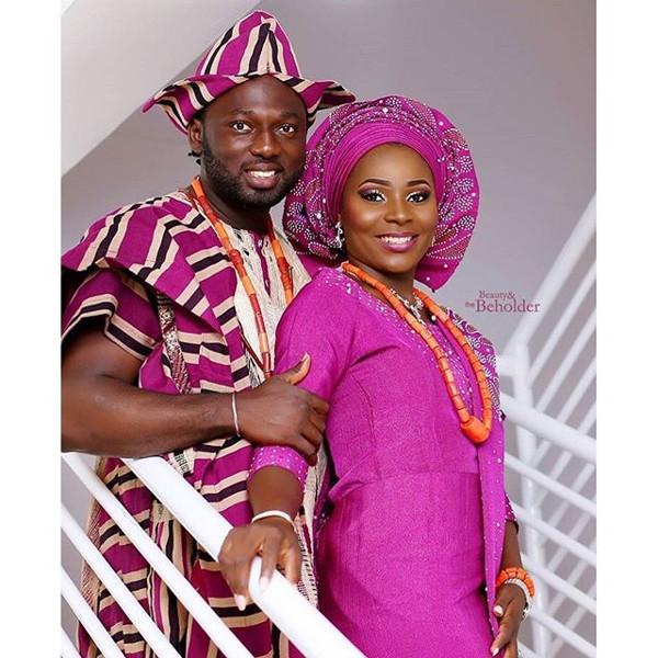 Jide weds Morayo Odukoya LoveweddingsNG #MJ2016