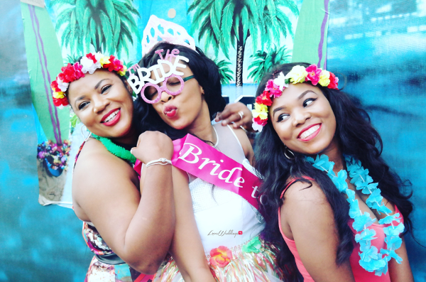 Keona's Hawaian Themed Bridal Shower Bride and Friends Partito by Ronnie LoveweddingsNG 1