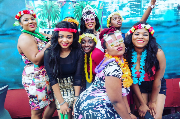 Keona's Hawaian Themed Bridal Shower Bride and Friends Partito by Ronnie LoveweddingsNG
