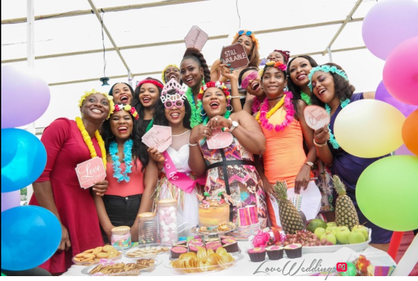 Keona's Hawaian Themed Bridal Shower Partito by Ronnie LoveweddingsNG 2