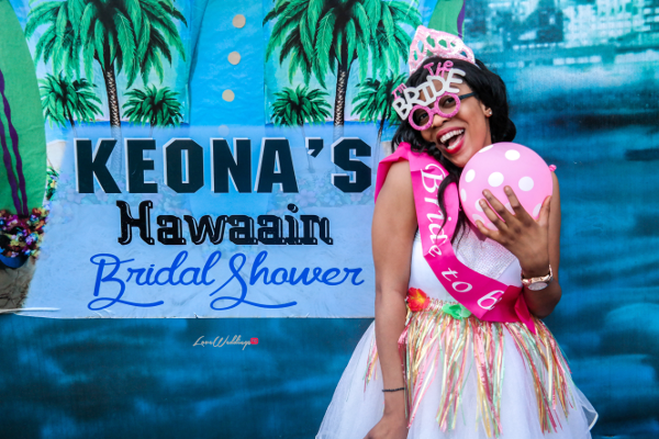 Keona's Hawaian Themed Bridal Shower Partito by Ronnie LoveweddingsNG 5