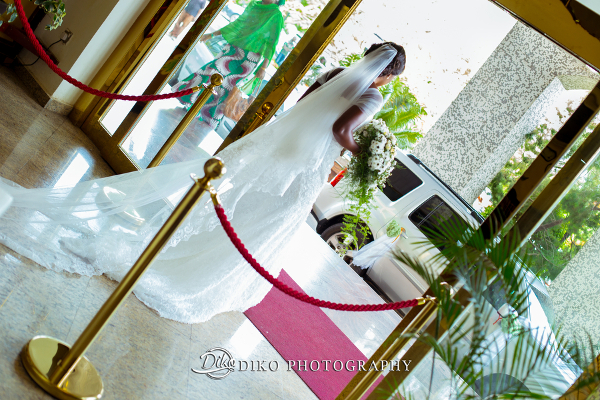 Nigerian Bridal Gown Grace and Pirzing LoveweddingsNG Diko Photography