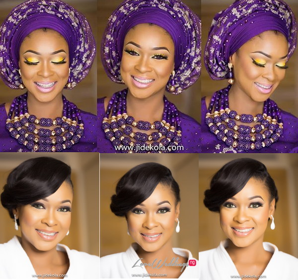 Nigerian Bridal Makeup IPosh Looks LoveweddingsNG