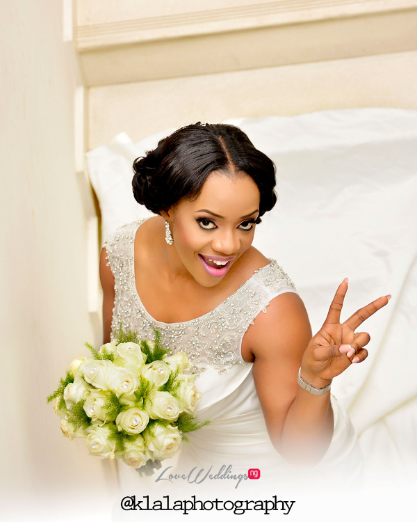 Nigerian Bride Bouquet Isioma and Ifeanyi LoveweddingsNG Klala Photography