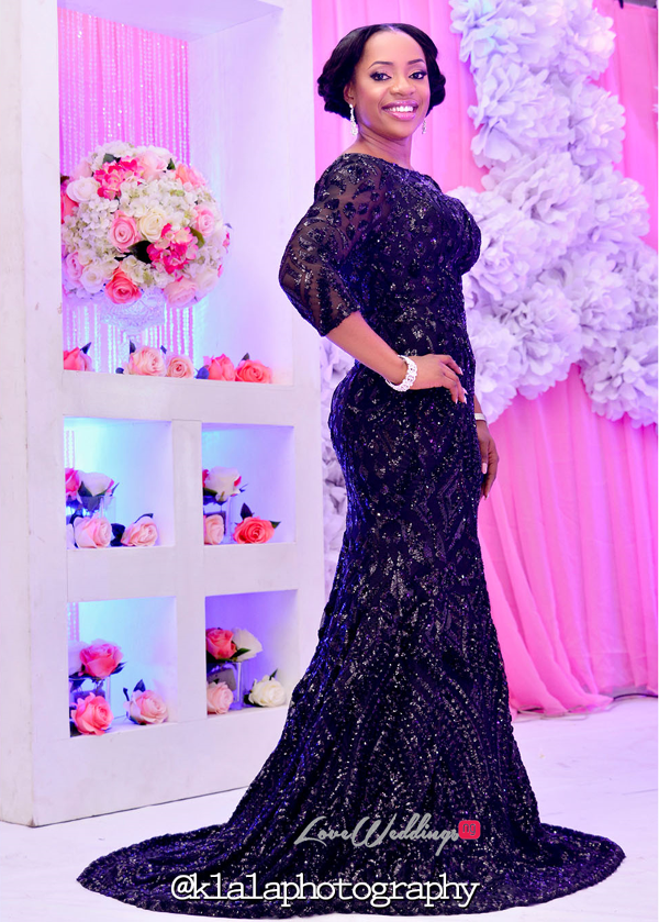 Nigerian Bride Reception Dress Isioma and Ifeanyi LoveweddingsNG Klala Photography 2