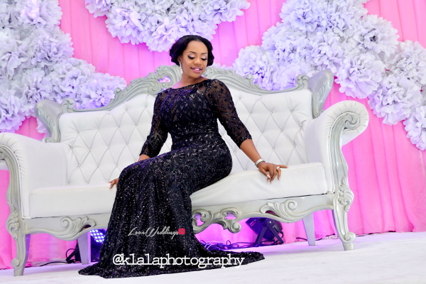 Nigerian Bride Reception Dress Isioma and Ifeanyi LoveweddingsNG Klala Photography
