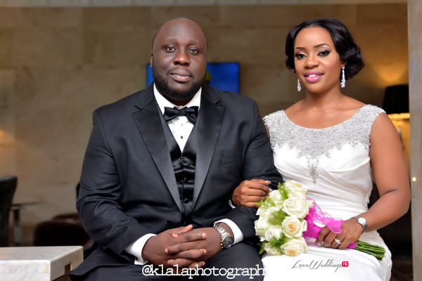 Nigerian Bride and Groom Isioma and Ifeanyi LoveweddingsNG Klala Photography