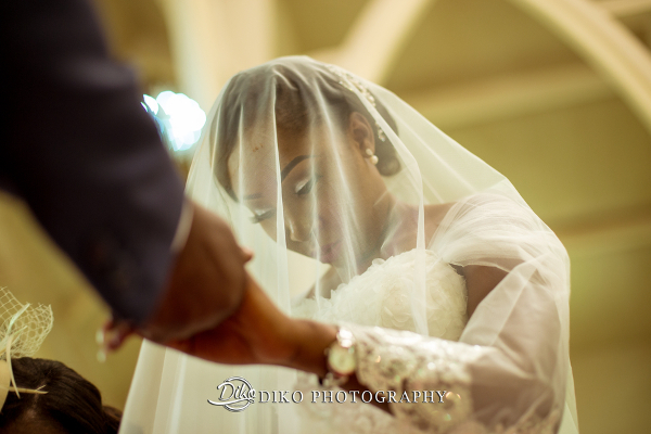 Nigerian Couple Church Grace and Pirzing LoveweddingsNG Diko Photography