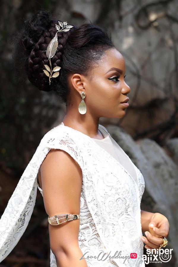 Nigerian Garden Shoot Artsmith Collections by Gbenga Dada - Grecian Goddess LoveweddingsNG 3