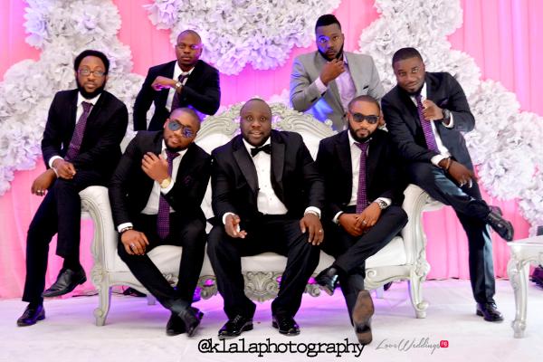 Nigerian Groom and Groomsmen Isioma and Ifeanyi LoveweddingsNG Klala Photography 1