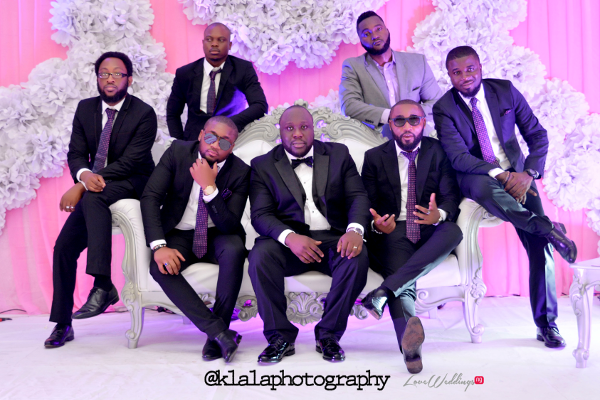 Nigerian Groom and Groomsmen Isioma and Ifeanyi LoveweddingsNG Klala Photography