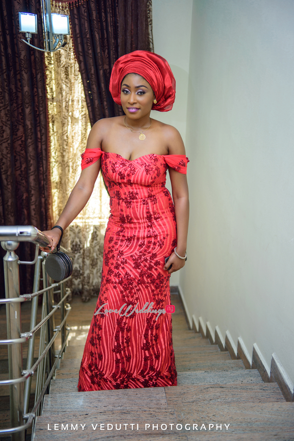 Nigerian Traditional Aso Ebi girls Jane and Solomon Lemmy Vedutti Photography LoveweddingsNG 2