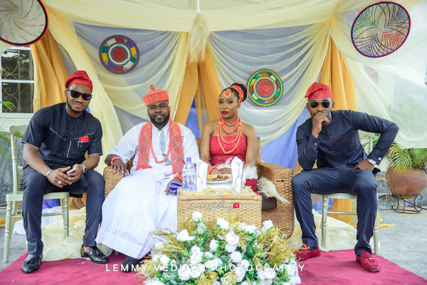 Edo meets Ogoja: Jane & Solomon's Traditional Wedding | Lemmy Vedutti