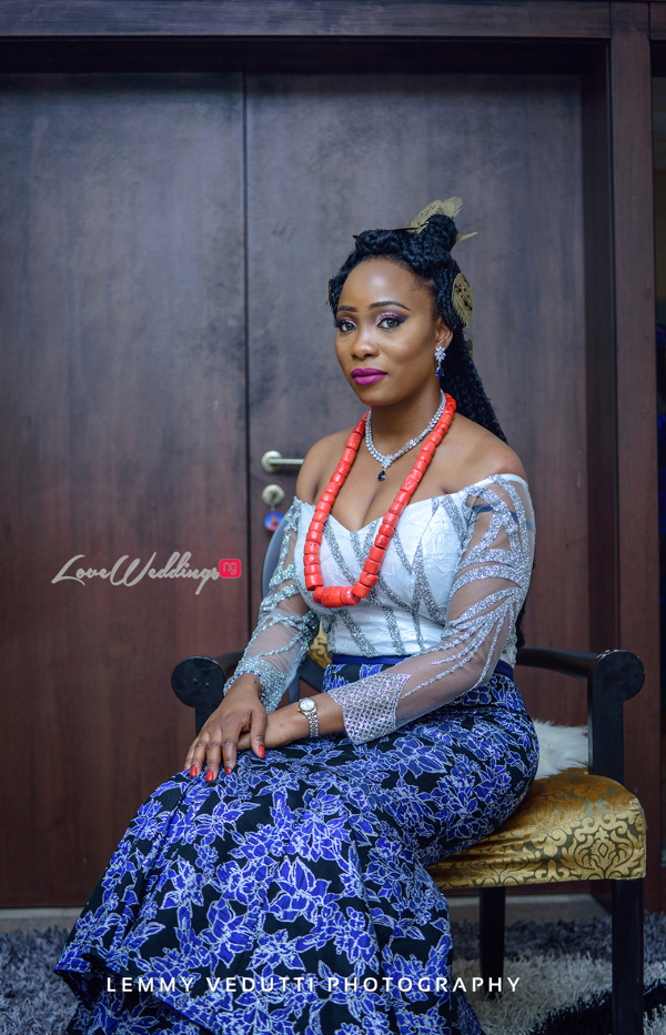 Nigerian Traditional Bride Jane and Solomon Lemmy Vedutti Photography LoveweddingsNG 5