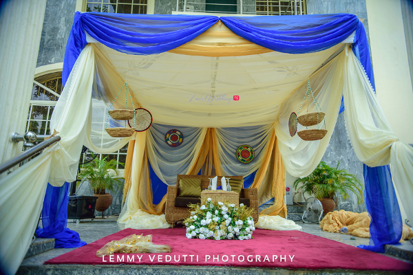 Nigerian Traditional Wedding Decor Jane and Solomon Lemmy Vedutti Photography LoveweddingsNG 2