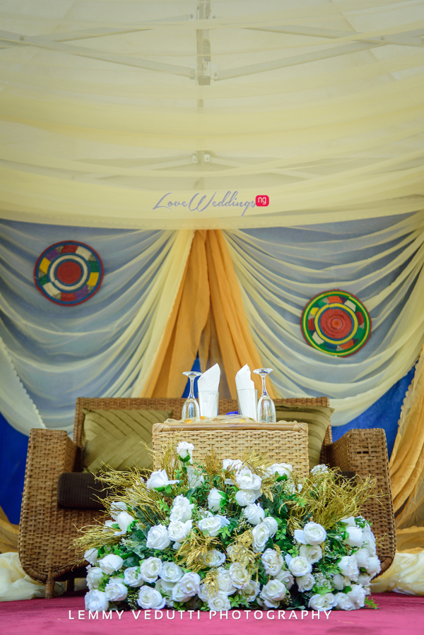 Nigerian Traditional Wedding Decor Jane and Solomon Lemmy Vedutti Photography LoveweddingsNG 3