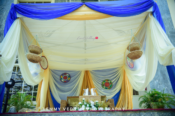 Nigerian Traditional Wedding Decor Jane and Solomon Lemmy Vedutti Photography LoveweddingsNG 4