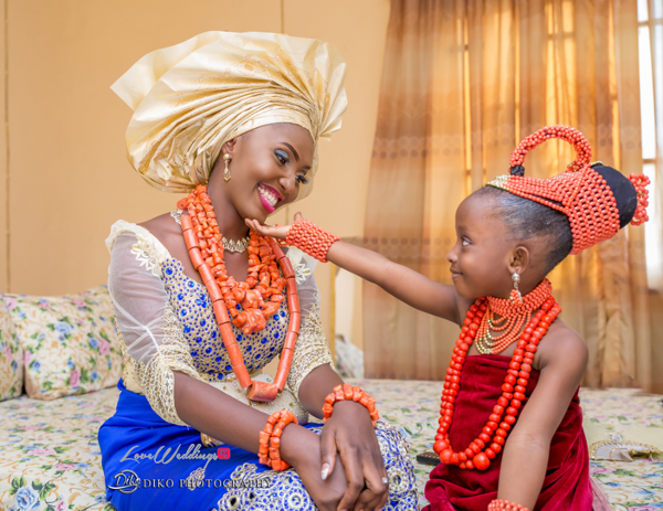 Nigerian Traditional Wedding Esther and Ben Bride and Little Bride Diko Photography LoveweddingsNG