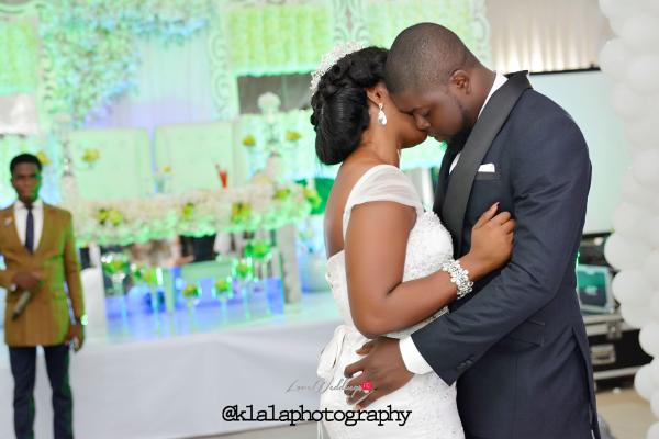 Anu & Toye's Classy White Wedding | Klala Photography