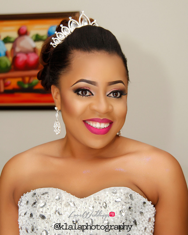 Nigerian Wedding Bridal Makeup LoveweddingsNG Klala Photography