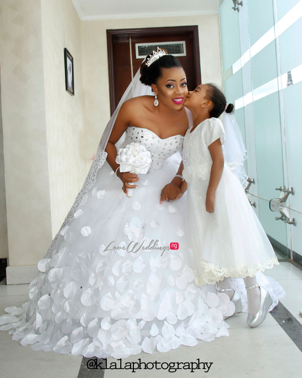 Nigerian Wedding Bride and Little Bride LoveweddingsNG Klala Photography 2