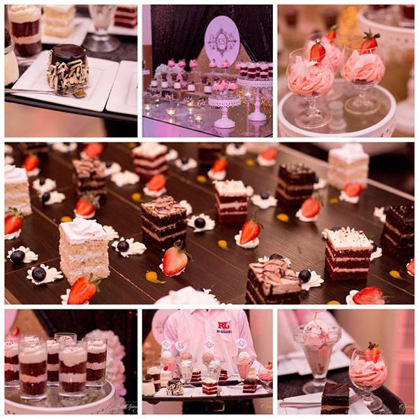 Nigerian Wedding Desserts Kemi and Sydney Aquarian Touch LoveweddingsNG 1