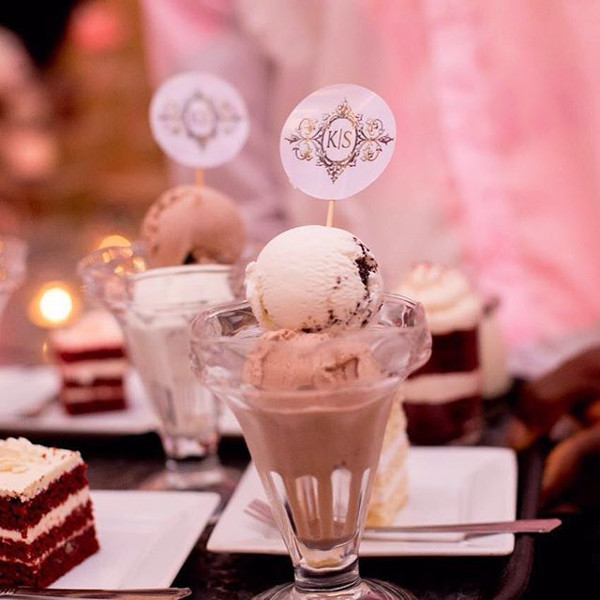 Nigerian Wedding Desserts Kemi and Sydney Aquarian Touch LoveweddingsNG