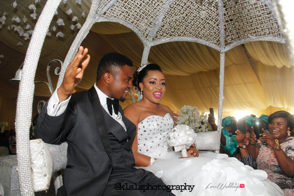Nigerian Wedding Susan and Washington Grand Entrance Reception LoveweddingsNG Klala Photography 1