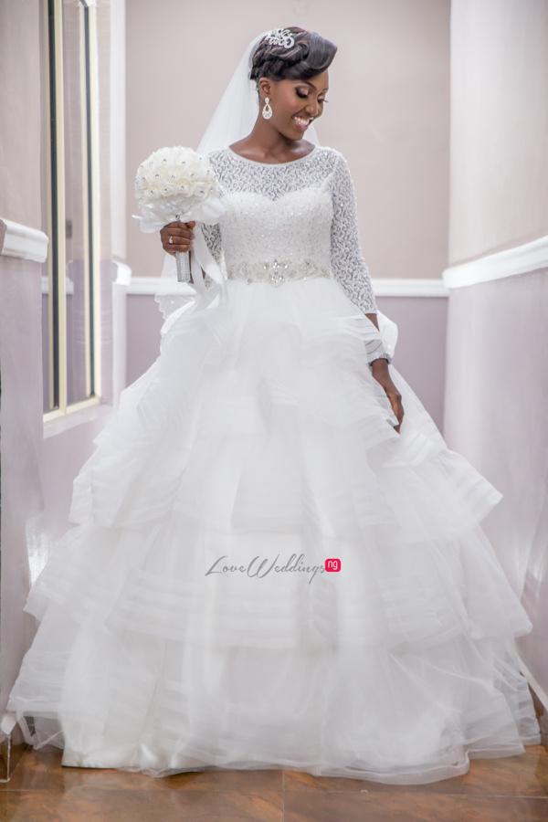 Nigerian White Wedding Esther and Ben Bride Diko Photography LoveweddingsNG 1