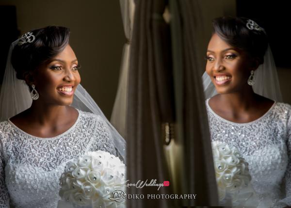 Nigerian White Wedding Esther and Ben Bride Diko Photography LoveweddingsNG 3