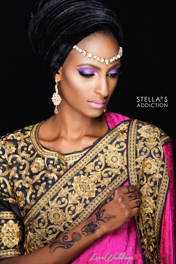 Northern Bridal Makeup Shoot Stellas Addiction LoveweddingsNG 10