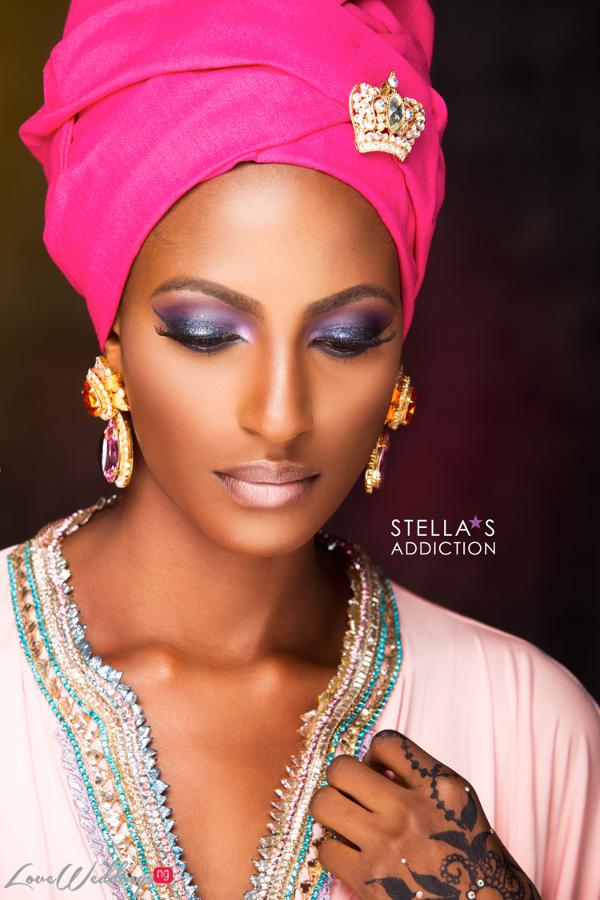 Northern Bridal Makeup Shoot Stellas Addiction LoveweddingsNG 2