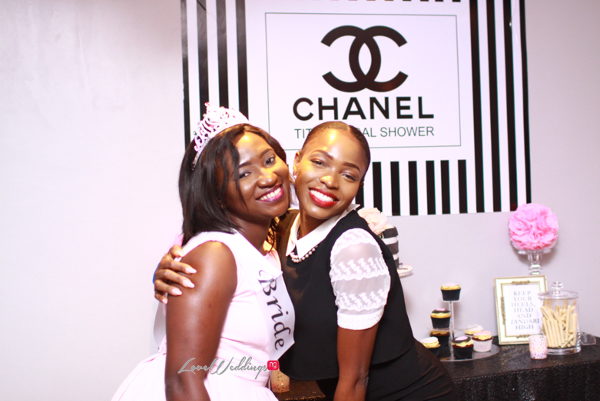 Titi's Chanel Themed Bridal Shower Bride and Friend Partito By Ronnie LoveweddingsNG