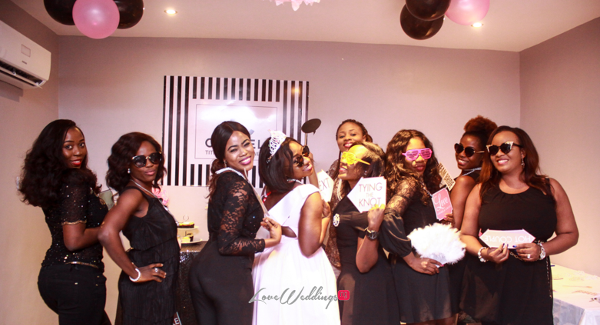 Titi's Chanel Themed Bridal Shower Bride and Friends Partito By Ronnie LoveweddingsNG 1