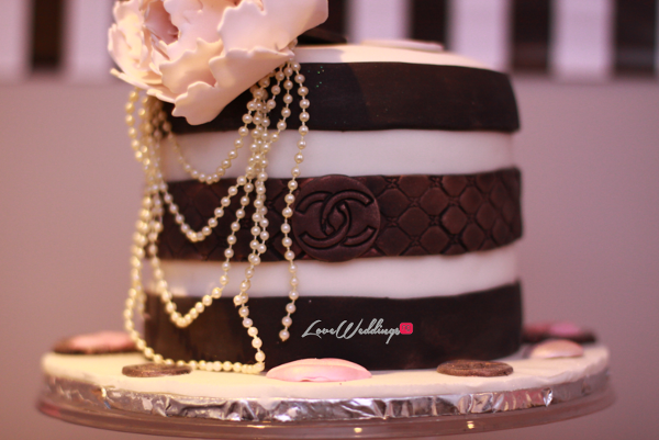 Titi's Chanel Themed Bridal Shower Cake Partito By Ronnie LoveweddingsNG